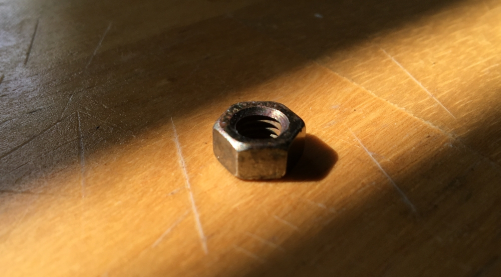 Rusted Nut